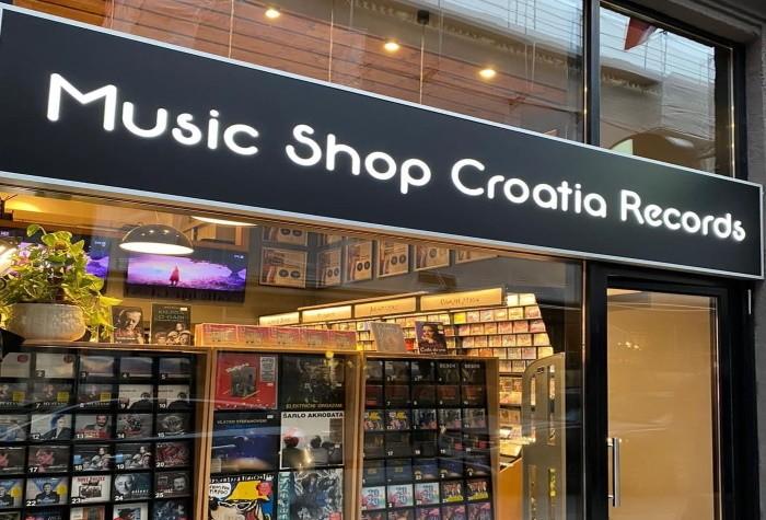Croatia Records shop (Zagreb, Split i Rijeka)